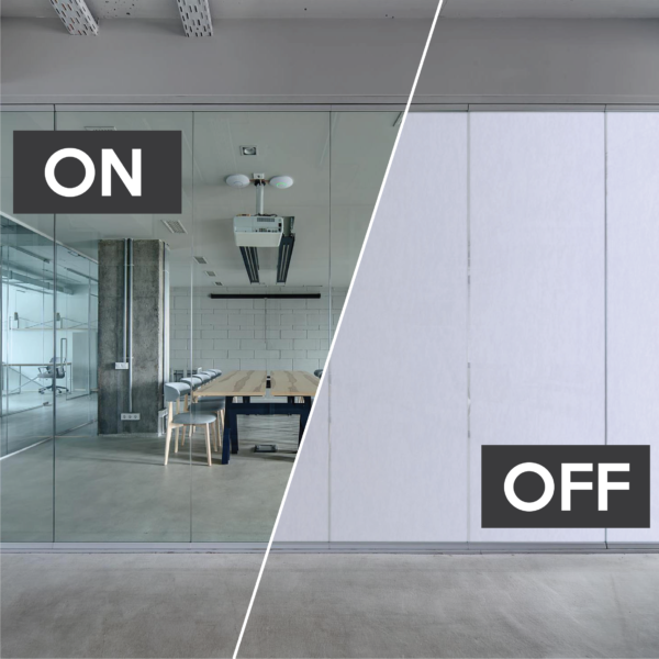 Switchable LCD Smart glass