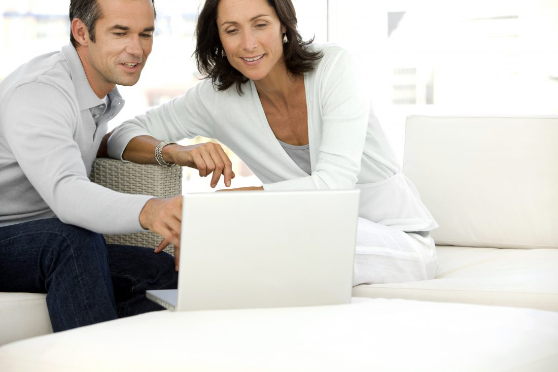 Couple on computer smaller
