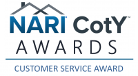 NARI Customer Service Award Logo