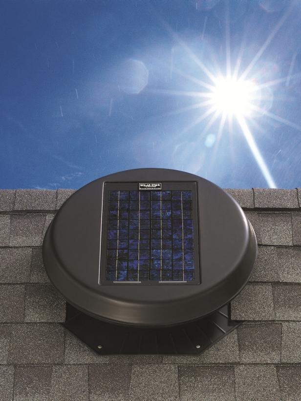 Solar Attic Ventilation Fans