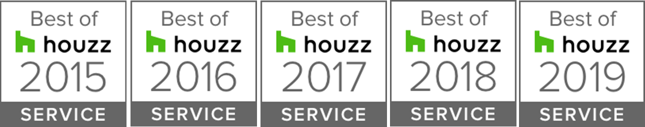 Best of Houzz -multi year new logo